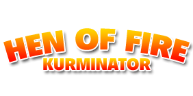 Hen of Fire: Kurminator Logo