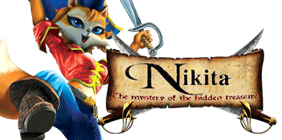Nikita: The Mystery of the Hidden Treasure Logo